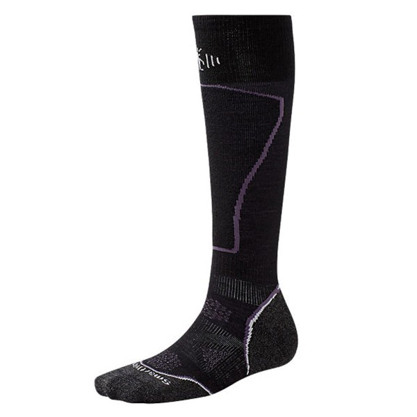 SMARTWOOL Skistrümpfe WOMENS PHD SKI LIGHT black