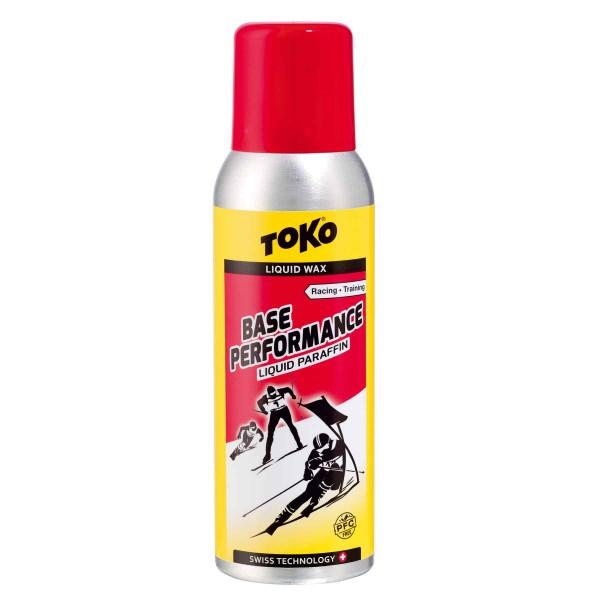 Toko BASE PERFORMANCE LIQUID PARAFFIN RED 100ml Flüssigwachs PFC-Free