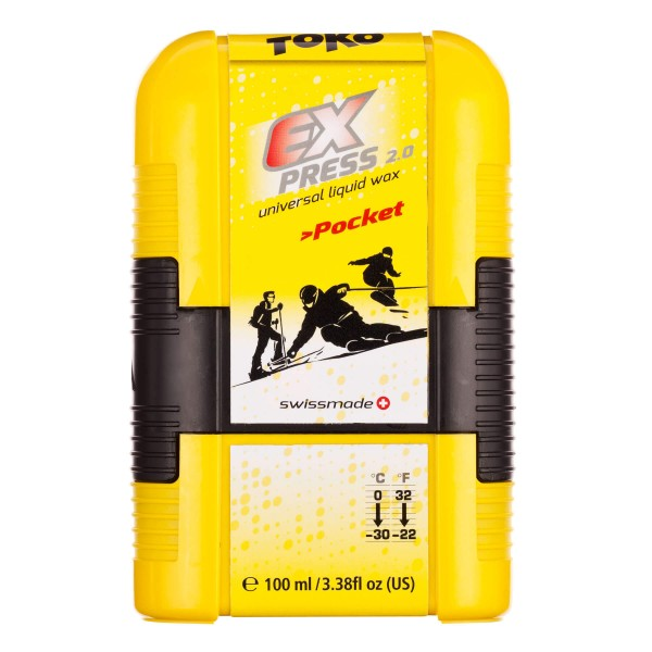Toko EXPRESS POCKET 100ml Universal-Skiwachs