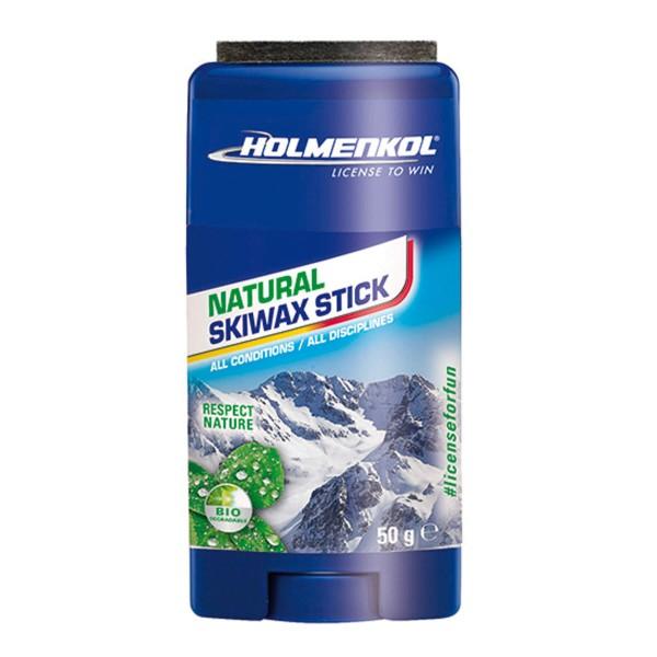 Holmenkol NATURAL SKIWAX STICK 50gr Universal-Skiwachs