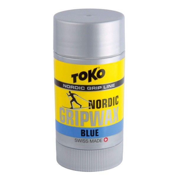 Toko NORDIC GRIPWAX BLUE -7 BIS -30 25g Langlauf Steigwachs