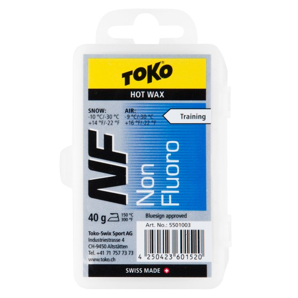 Toko NF HOT WAX BLUE 40g Skiwachs PFC-Free