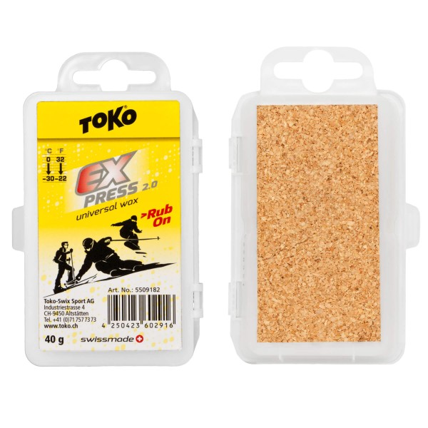 Toko EXPRESS RUB-ON 40gr Universal-Skiwachs
