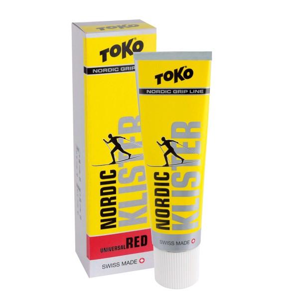 Toko NORDIC KLISTER ROT 55g Klister +2 bis -8°