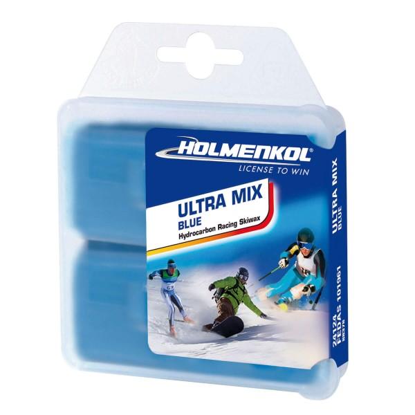 Holmenkol ULTRAMIX BLUE 2x35gr Skiwachs