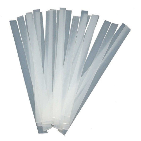 SKS POLY-STREIFEN transparent 20 Stück Belagsreparaturmaterial