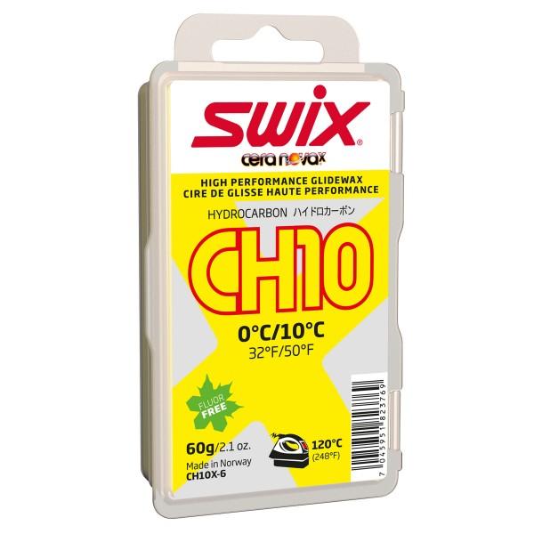 Swix CH10X GELB 60g Skiwachs PFC-free