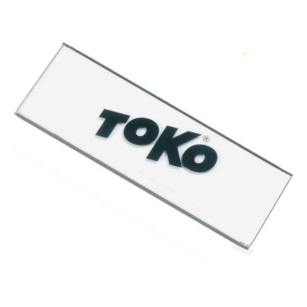 Toko PLEXI BLADE BACKSHOP 130x58x3mm Wachsabziehklinge